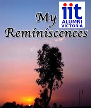 IIT                                               Reminiscences