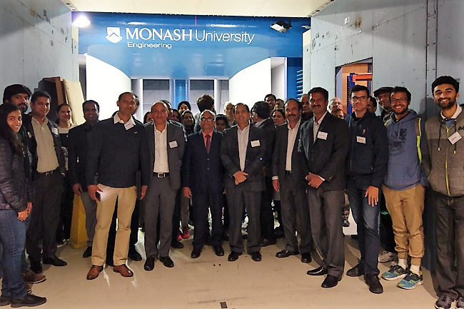 2019 Visit to Monsash Wind tunnel