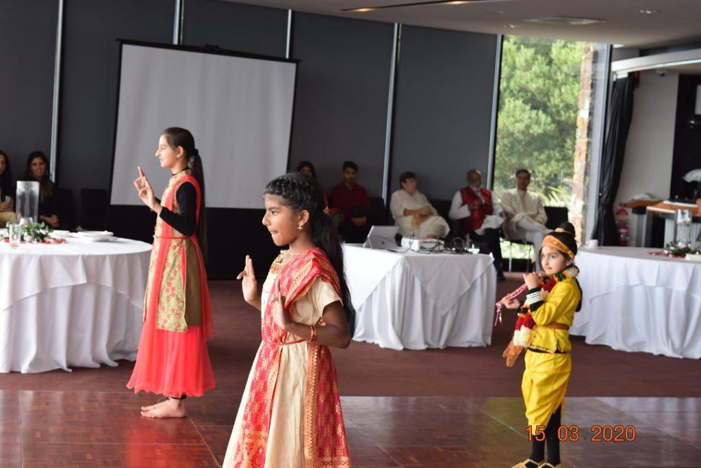 Holi 2020 - Krishna and Gopikas